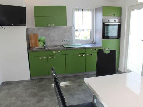 Kuchnia dla wynajmujących pokoje w Birgland